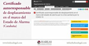 Certificado de desplazamiento Habeas Legal 710x371 1 300x157 - Certificado autorresponsable de desplazamiento en el marco del estado de alarma (Cataluña)
