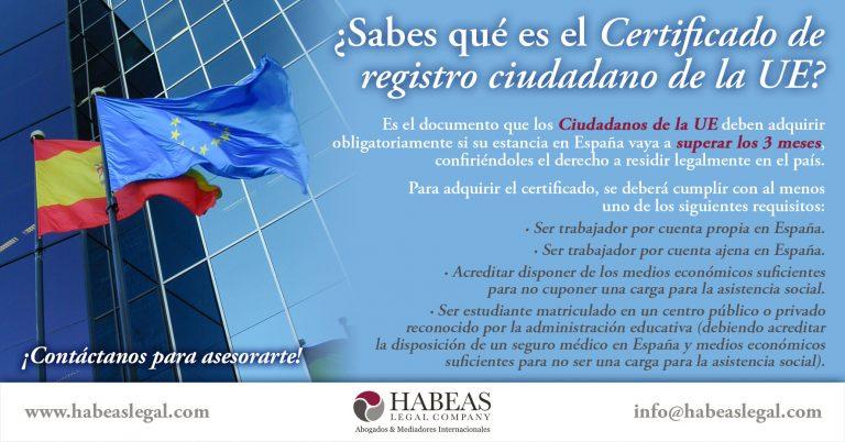 Certificado registro ciudadano UE Habeas 768x402 1 - Derecho de Extranjería e Inmigración