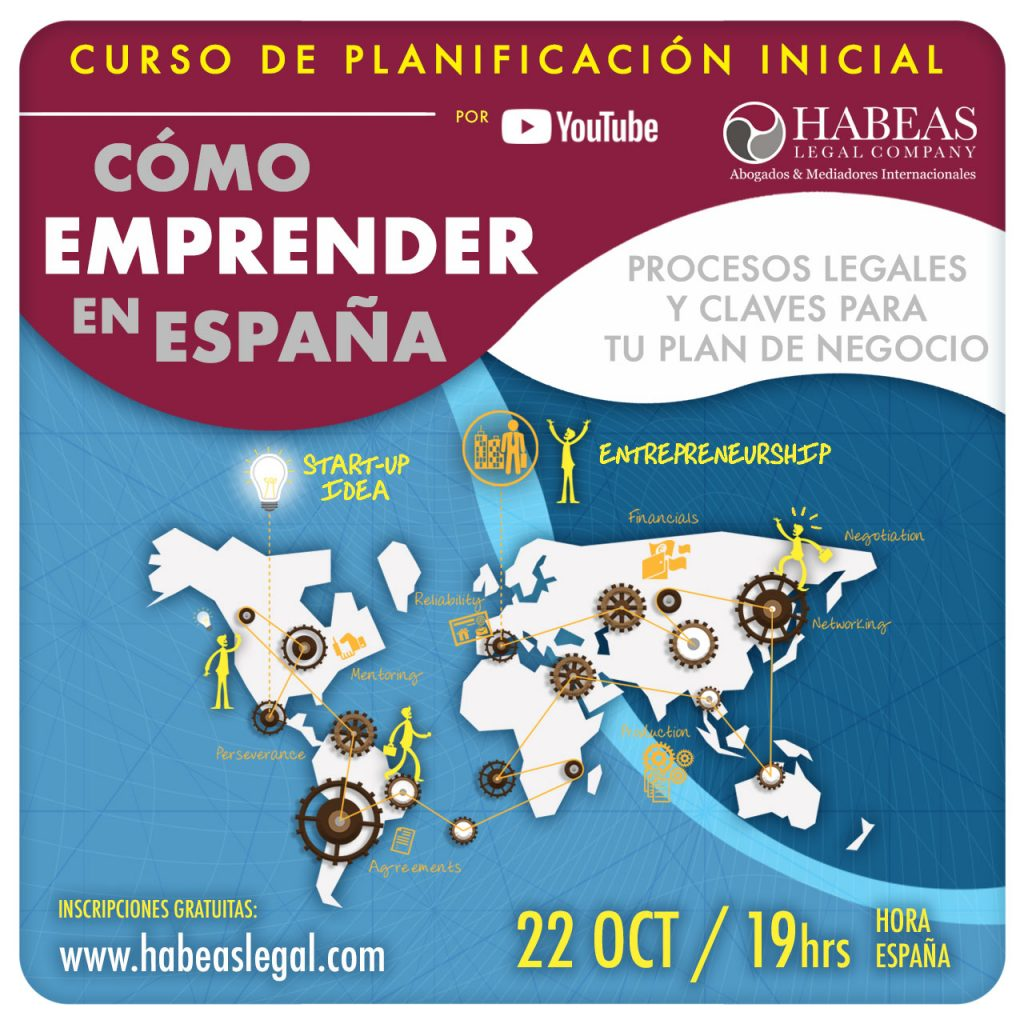 Como Emprender en Espana SEPT 2021 1024x1024 - Conoce, aprende y emprende en España con Habeas Legal