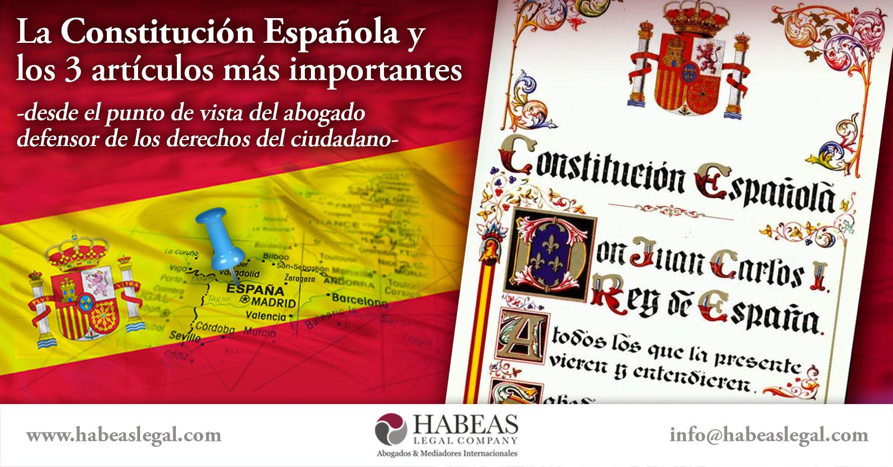 Constitución Española Habeas - Blog