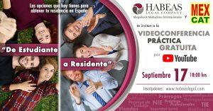 Sesion informativa gratuita mensual para estudiar en España