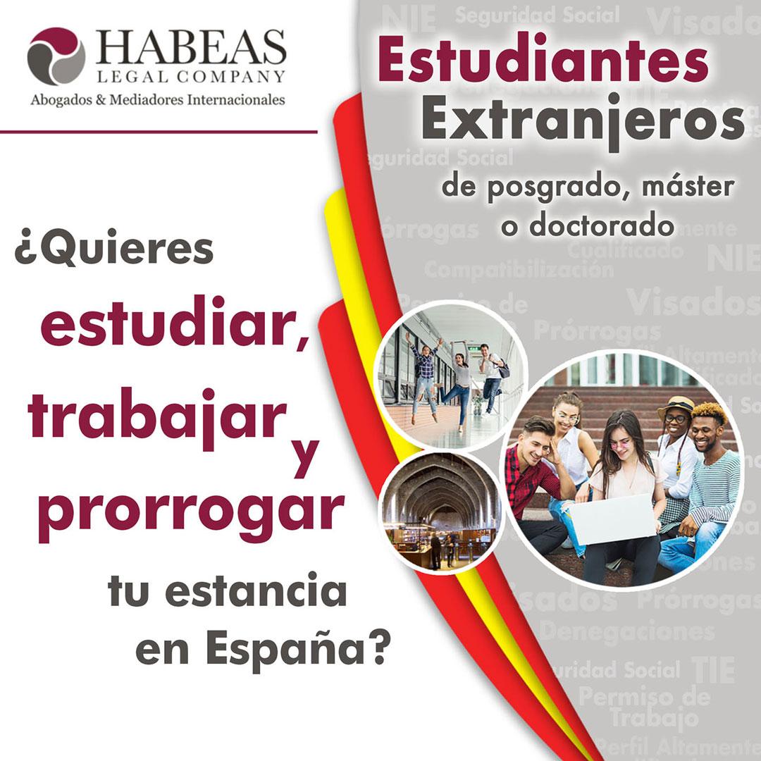 Estudiantes Extranjeros web - Abogados Internacionales especializados en Extranjería, Inmigración y Laboral