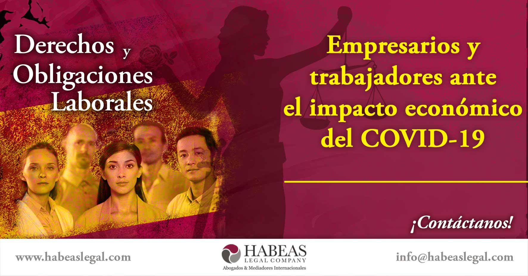 Impacto economico laboral COVID19 Habeas Legal - Blog
