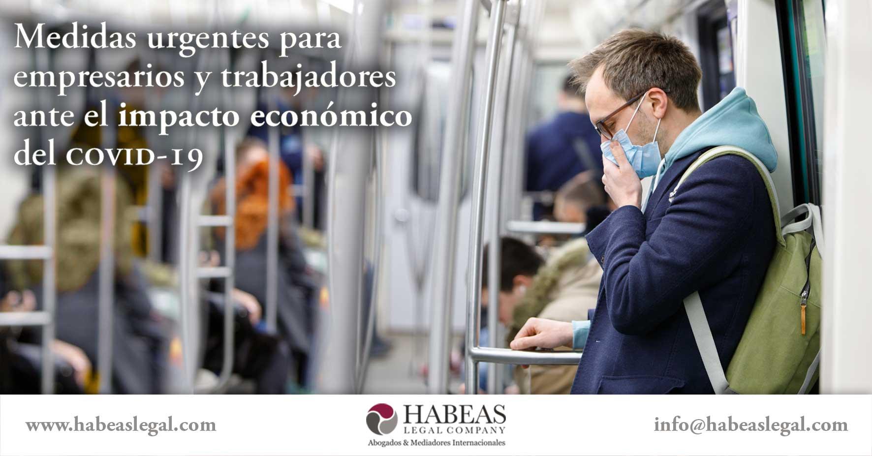 Medidas urgentes covid19 Habeas Legal - Blog