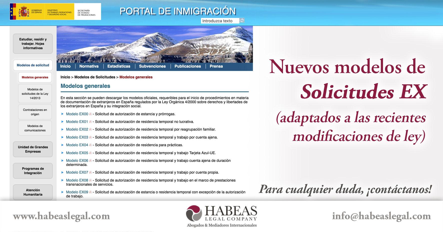 Modelos EX Habeas Legal - Blog