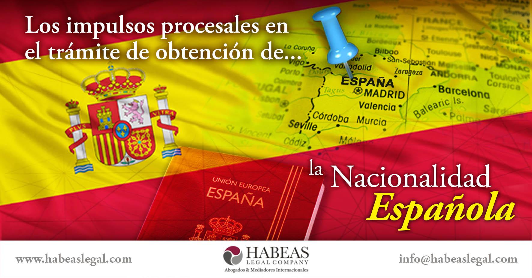 Nacionalidad española impulsos procesales Habeas Legal - ¿Qué hacer cuando no te responden a tu solicitud de Nacionalidad Española?