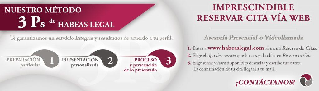 Slide 3ps citas Habeas Legal Reservar cita web