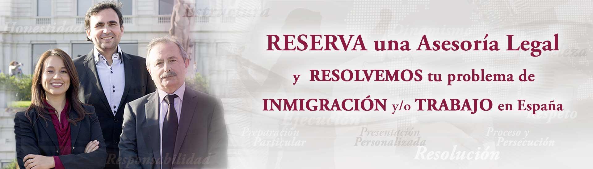 Slides reserva asesoria legal Habeas Legal - Abogados Internacionales especializados en Extranjería, Inmigración y Laboral